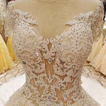 LS6351 wedding dress underskirt image short sleeves bride dress cap sleeve wedding dress for fat woman