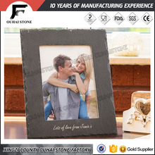 Slate wedding craft photo picture frame