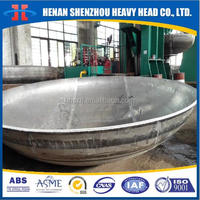 Cold Formed ASME U Stamp Stainless Steel Pressure Vessel Tank Heads Elliptical Ellipsoidal Dished Heads