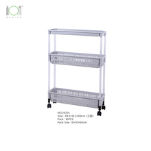 Corner plastic rack high quality storage rack bathroom <strong>shelf</strong> toilet kitchen <strong>shelf</strong> with wheels