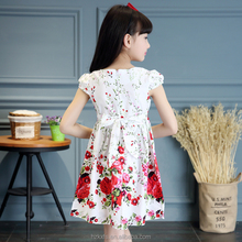 new fashion ladies dress Peony printed dress