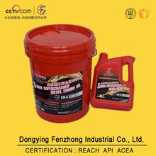 Reasonable price CH-4 15w40 diesel engine oil with REACH certification