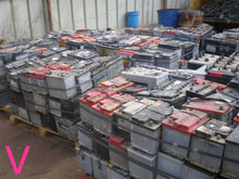 High quality Drained Lead battery scrap factory price