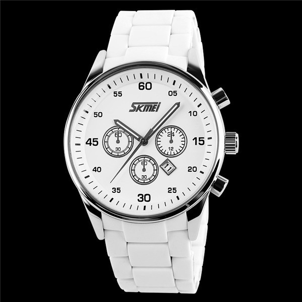 Quartz Stainless Steel Back Watches Watches Men 3atm
