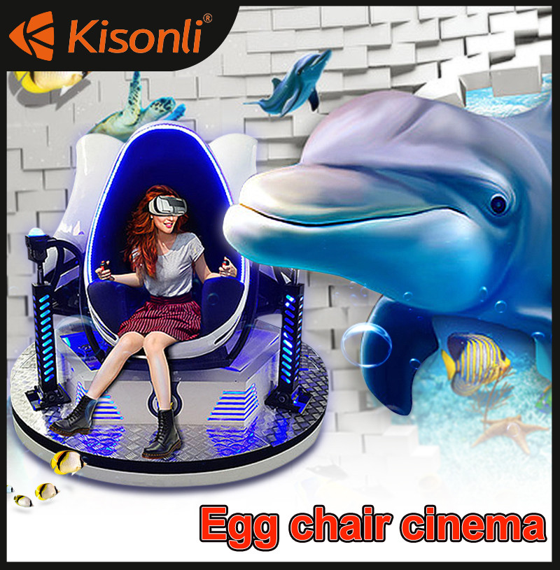 Factory price 9d egg vr cineme virtual reality 9d vr video games for shopping mall game house