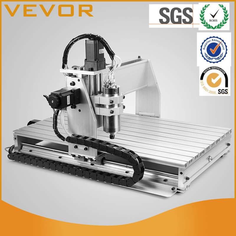 Precision CNC Router USB Engraver Machine Drilling/Milling 6040 X/Y/Z 3-Axises With The Matching 1605 Ball Screws