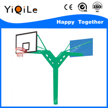 Height movable adjustable outdoor basketball hoop stands