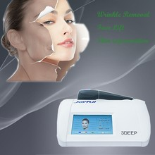 Beauty equipment 3DEEP machine radio frequency facial with no cooling for skin rejuvenation
