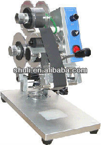 plastic film Manual Hot Stamping Date Coding Machine /best quality Hand Press heat code printer0086-13676910179