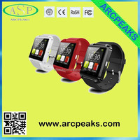Promotional christmas gifts bluetooth smart watch ,cheap new products U8