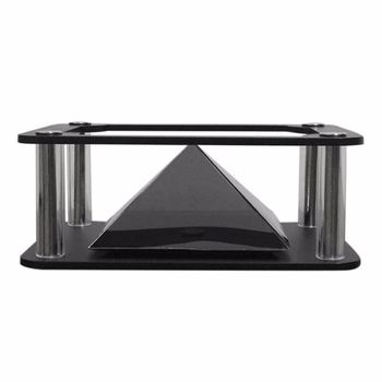 New iPad 3d holographic projector projection pyramid