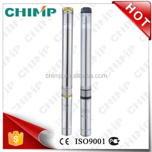 "CHIMP 3.5"" 3/4HP 1 ton 90QJD114-0.55 Centrifugal Submersible Machiny Deep Well Water Pump"