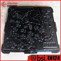 EN124 customized manhole cover drawing factory sale