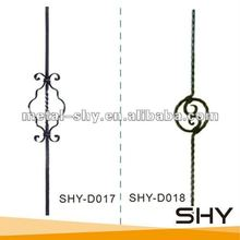 2014 Decorative Wrought Iron Bars for Iron Windows for Sale