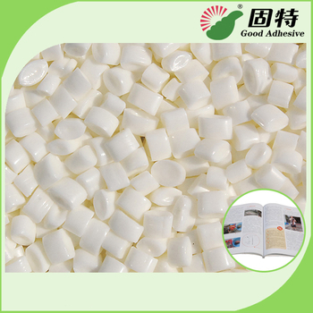 Low Grams Coated Paper Spine Bookbinding Hot Melt Adhesive YD-3AB