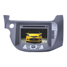 "7"" Fixed Double Din DVD Player with GPS for 2009 Honda New Fit,7 inch customised dvd player for HONDA"
