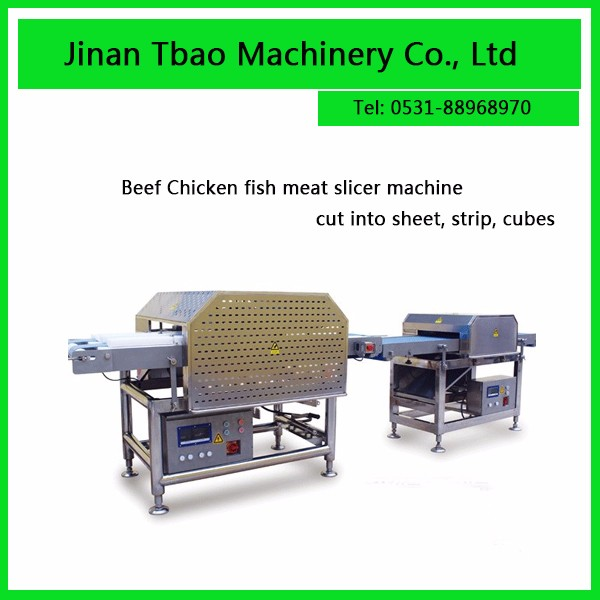 Hot Sale Easy Operate Low Price Chicken Butterflying Meat Slicer Machine