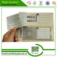 Changeable barcode printing stickers for logistics & express