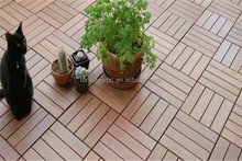 recycled backyard outside hollow composite wood decking wpc decking rubber roof tiles