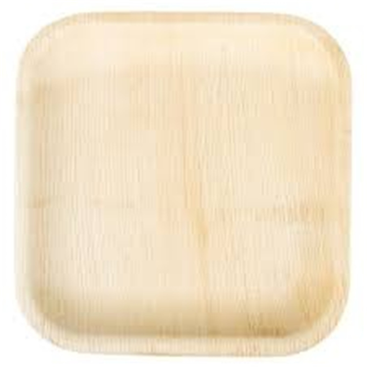 Best quality disposable tableware 6 inch octagonal wooden <strong>plates</strong>