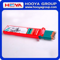 custom wholesale cheap hexagonal plastic HB pencil in bulk