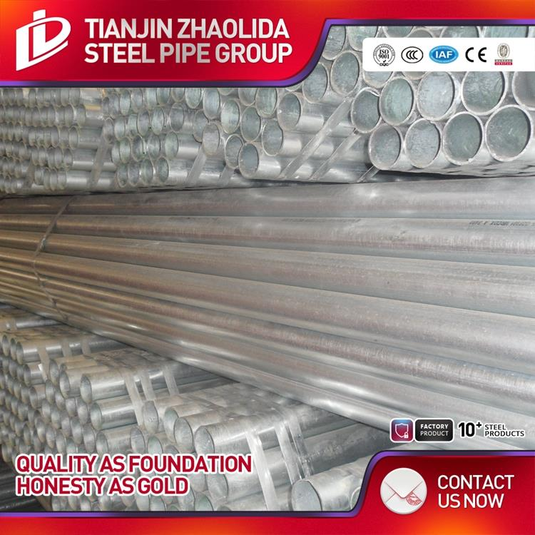 ASTM A53 sch 40 for water stock fluid hot dipped galvanized steel pipe china made in China