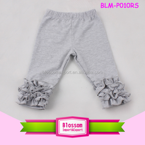 Best Selling Cute Toddler Soft softtextile icing baby leggings wholesale icing ruffle pants