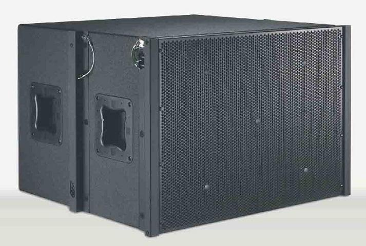 spe audio LA-281 dual 8 inch mini line array
