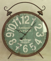 double bell decorative table clock