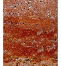 Red hole stone marble decorative marble pieces honed finish travertine tile, 300x600 mm carrara MARBLE tile dubai