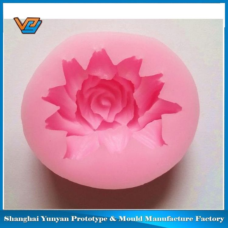 Good quality good price peach sugar craft silicone mould