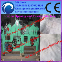 2015 CE textile waste opening machine/cotton waste opening machine/polyester fiber fine opener machine (Skype:junemachine)