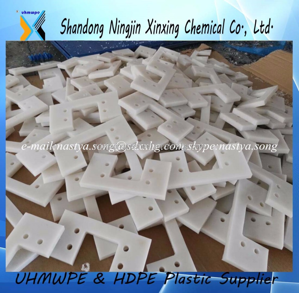 UHMWPE parts /UHMW plastic filter sheet for drain away water