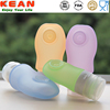 Kean Wholesale good quality squeeze bpa free silicone travel empty hotel shampoo bottles