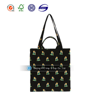 2017 Multicolor Promotional Canvas Tote Bag
