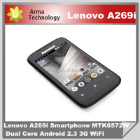 Lenovo A269i Android Smartphone MTK6572M Dual Core 3.5 Inch Capacitive Touch Screen Dual SIM Card 2.0MP Camera WIFI