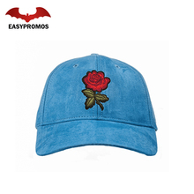 Embroidered Suede Cap /Cheapest Custom Baseball Cap