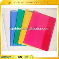 PVC colorful book sleeve size A4 A5 A6 book cover