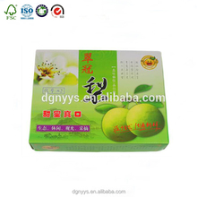Dongguan Best Price China Corrugated Paper Fruit Packing Box with Insert