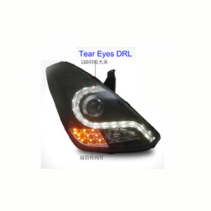 For Hyundai Grand Starex H1 '07-UP Led Head Lights Headlamp with DRL Function