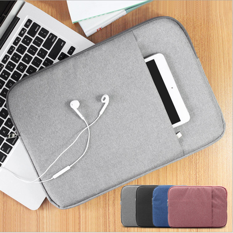 Nylon Sleeve bag for macbook pro air 13 inch Portable Zipper Soft Sleeve Laptop Pouch Bag for macbook pro air 13