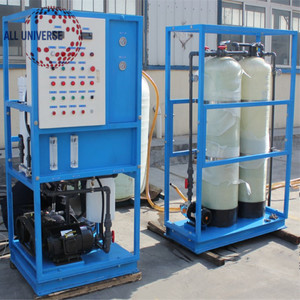 Containerized RO Seawater Desalination System for drinking /Seawater Desalination plant .