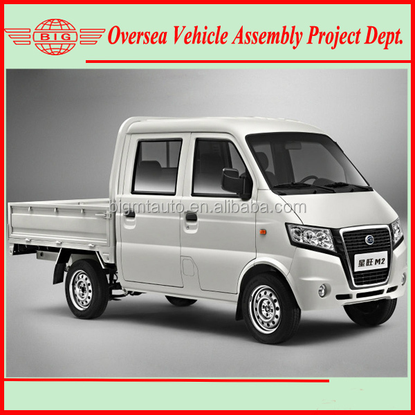 Assemble Rwd Petrol Double Cab Mini Truck With Skd/ckd