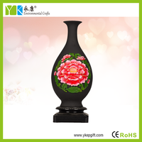 Best selling decorative 3d pictures vase of beautiful flowers for home decoration