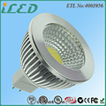 DC/AC 12V Dimmable MR16 GU5.3 LED Bulb LED Aluminum Light 3000K 5W LED COB Spotlight