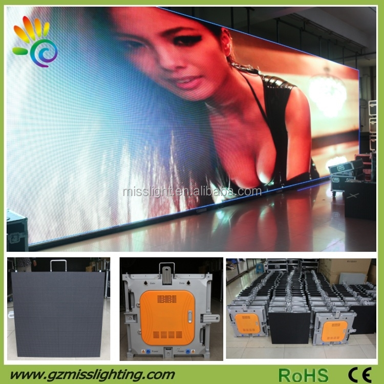Super Slim Full Color HD Sexy Video Play LED Screen