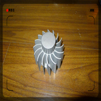 Pump Exhaust Fan Impeller body casting by investment precision casting