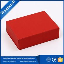 simple style take away cardboard packaging foldable plain gift boxes to decorate