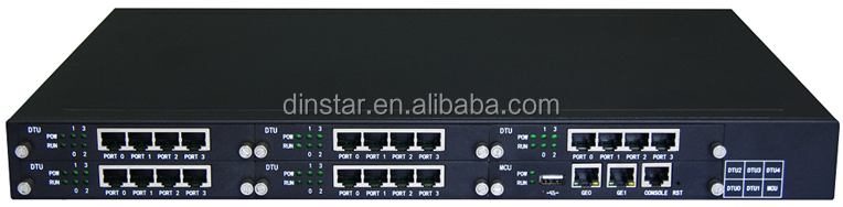 20 ports E1 gateway, media trunk gateway, dual power