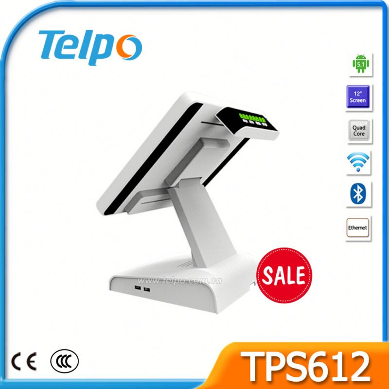 Telepower Fiscal Tills Android Digital Screen Media Player POS For drug Store TPS612